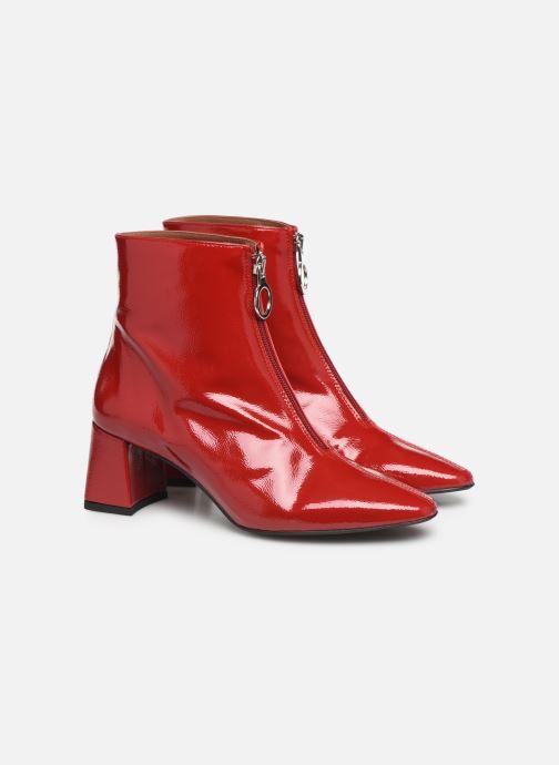 Botines  Made by SARENZA Night Rock boots #1 Rojo vistra trasera