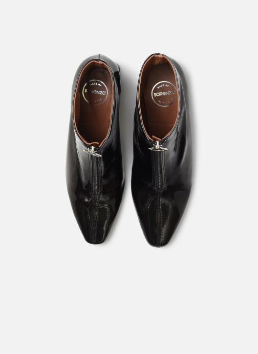 Botines  Made by SARENZA Night Rock boots #1 Negro vista del modelo