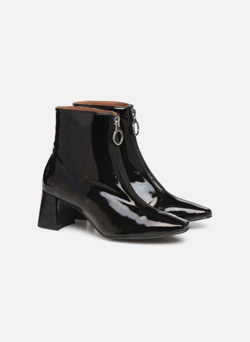 Botines  Made by SARENZA Night Rock boots #1 Negro vistra trasera