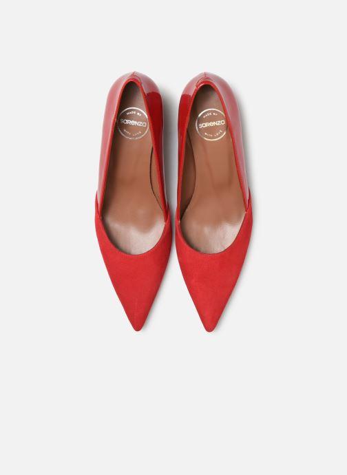 Décolleté Made by SARENZA Retro Dandy Escarpin #4 Rosso modello indossato