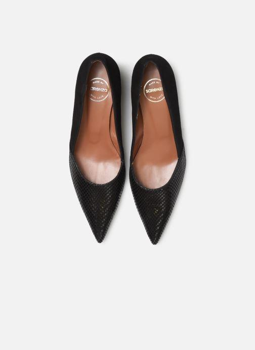 Zapatos de tacón Made by SARENZA Retro Dandy Escarpin #4 Negro vista del modelo