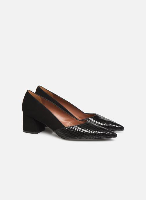 Zapatos de tacón Made by SARENZA Retro Dandy Escarpin #4 Negro vistra trasera