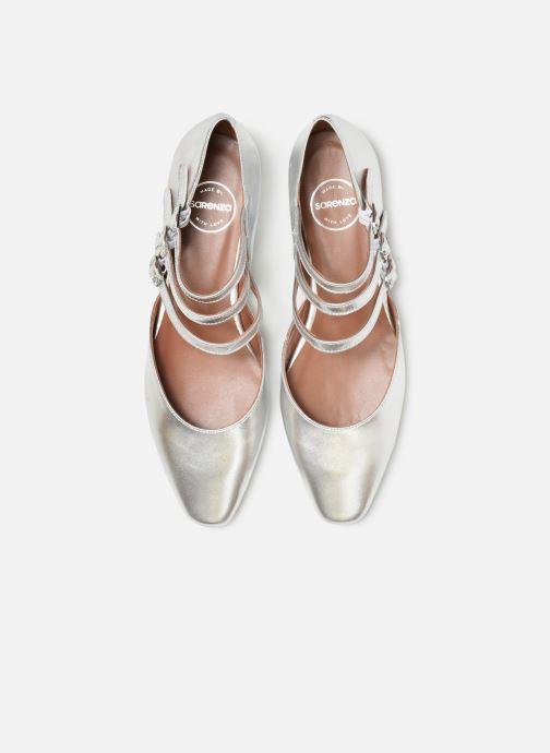 Ballerines Made by SARENZA Night Rock Ballerine #1 Argent vue portées chaussures