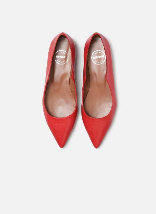 Bailarinas Made by SARENZA Night Rock Ballerine #2 Rojo vista del modelo