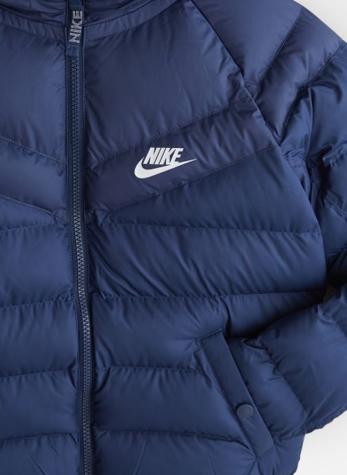 Vêtements Nike Nike Sportswear Jacket Filled Bleu vue portées chaussures