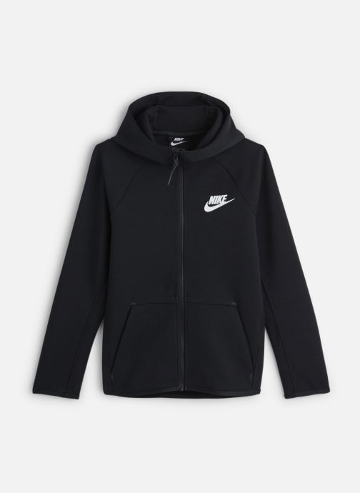 Kleding Nike Nike Sportswear Tech Fleece Full Zip Essentials Zwart detail
