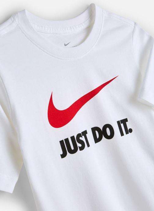 Vêtements Nike Nike Sportswear Tee Jdi Swoosh Blanc vue portées chaussures