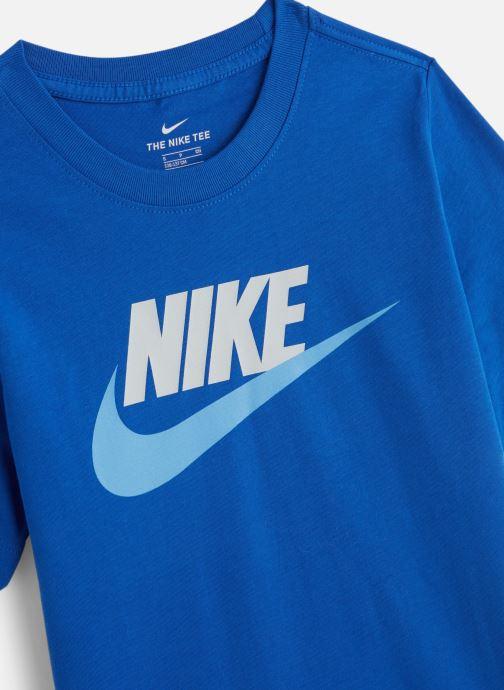 Tøj Nike Nike Sportswear Tee Futura Icon Blå se skoene på