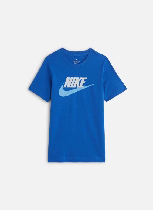 Tøj Nike Nike Sportswear Tee Futura Icon Blå detaljeret billede af skoene
