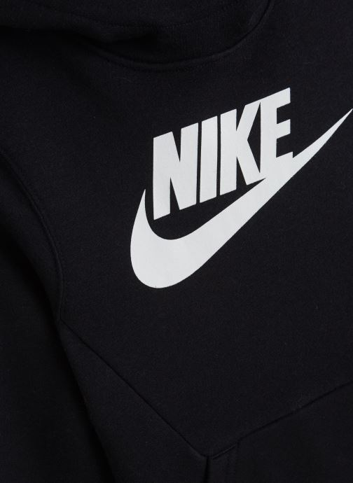 Vêtements Nike Nike Sportswear Po Hoodie Club Fleece Noir vue portées chaussures