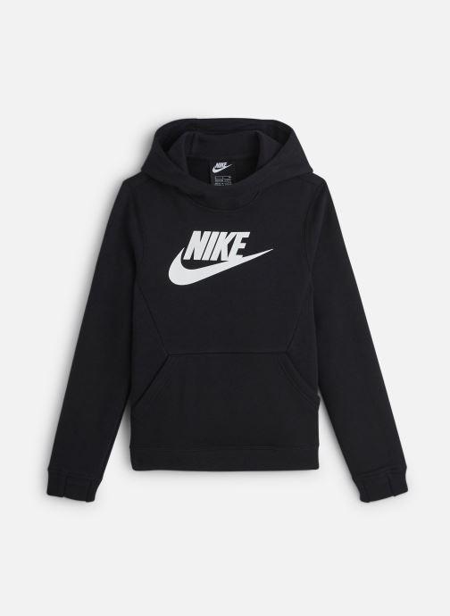 Kleding Nike Nike Sportswear Po Hoodie Club Fleece Zwart detail