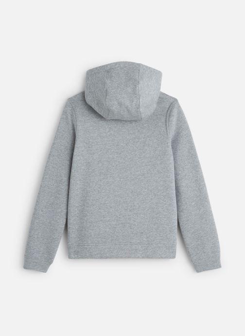 Vêtements Nike Nike Sportswear Po Hoodie Club Fleece Gris vue bas / vue portée sac