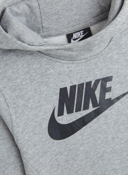 Kleding Nike Nike Sportswear Po Hoodie Club Fleece Grijs model