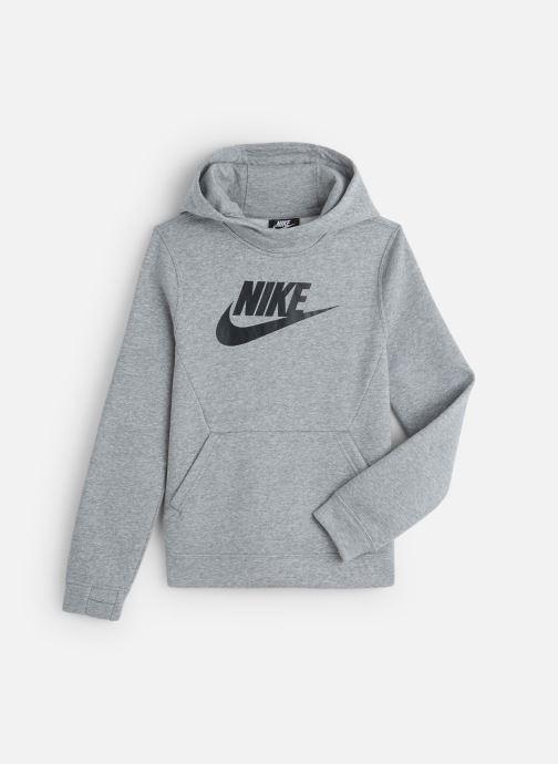 Kleding Nike Nike Sportswear Po Hoodie Club Fleece Grijs detail