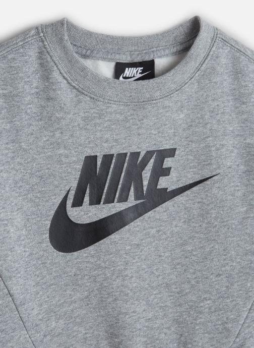 Vêtements Nike Nike Sportswear Ls Crew Club Fleece Gris vue portées chaussures