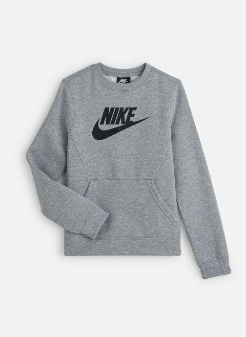 Vêtements Nike Nike Sportswear Ls Crew Club Fleece Gris vue détail/paire