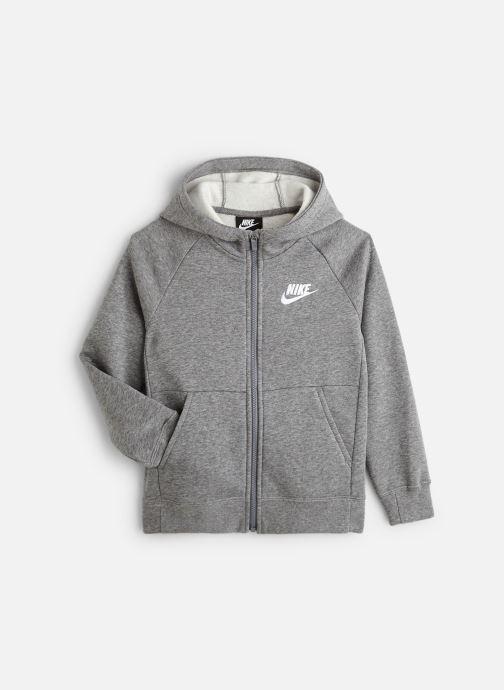 Vêtements Nike Nike Sportswear Pe Full Zip Gris vue détail/paire
