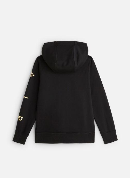 Vêtements Nike Nike Sportswear Nike Air Fleece Full Zip Noir vue bas / vue portée sac