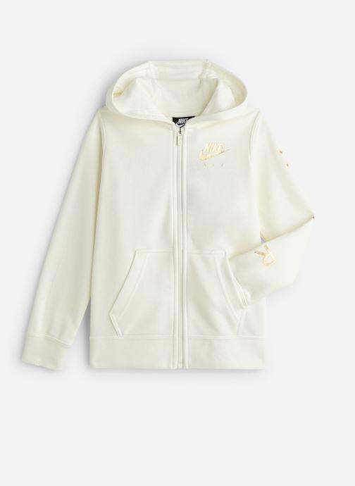 Vêtements Nike Nike Sportswear Nike Air Fleece Full Zip Blanc vue détail/paire