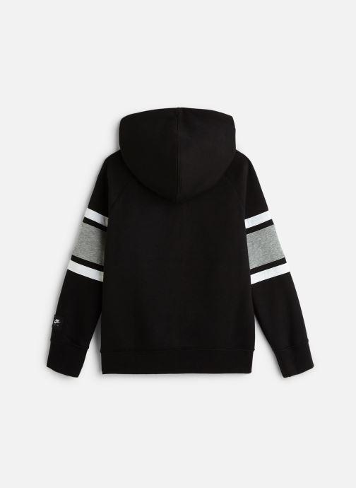 Vêtements Nike Nike Air Hoodie Full Zip Noir vue bas / vue portée sac