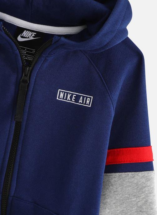 Vêtements Nike Nike Air Hoodie Full Zip Noir vue portées chaussures