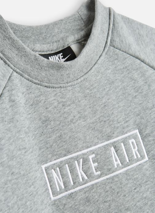 Vêtements Nike Nike Air Ls Crew Gris vue portées chaussures