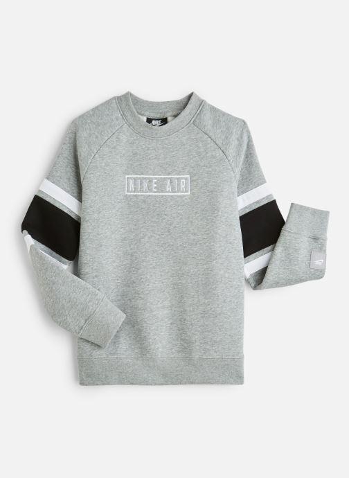 Vêtements Nike Nike Air Ls Crew Gris vue détail/paire