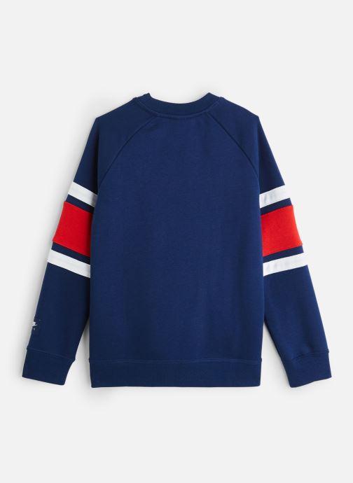 Vêtements Nike Nike Air Ls Crew Bleu vue bas / vue portée sac