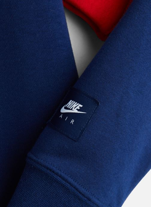 Vêtements Nike Nike Air Ls Crew Bleu vue portées chaussures