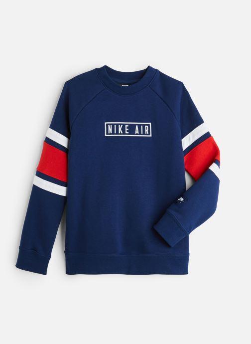 Kleding Nike Nike Air Ls Crew Blauw detail