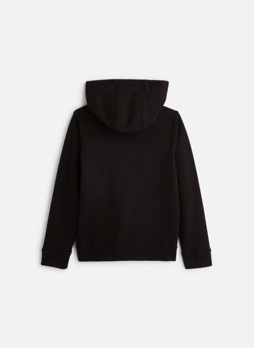 Vêtements Nike Nike Sportswear Hoodie Full Zip Club Noir vue bas / vue portée sac