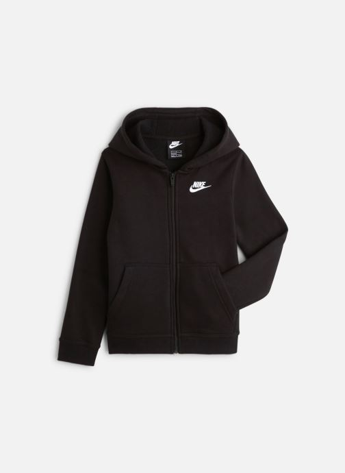 Vêtements Nike Nike Sportswear Hoodie Full Zip Club Noir vue détail/paire