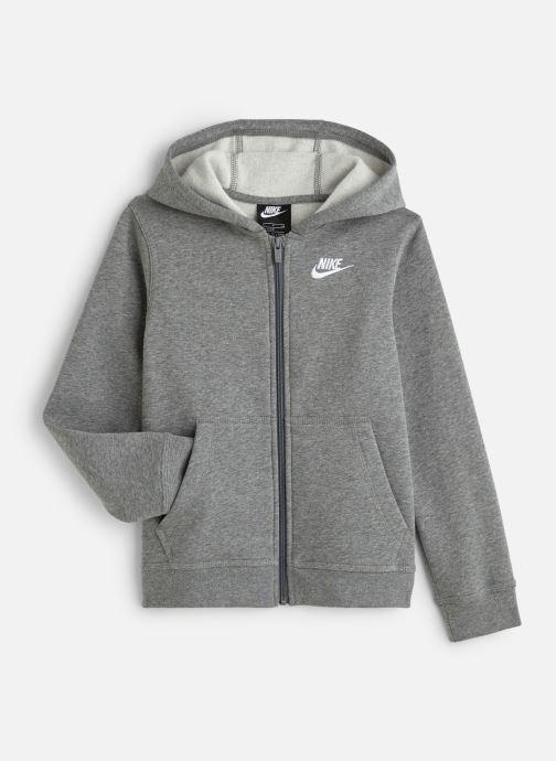 Vêtements Nike Nike Sportswear Hoodie Full Zip Club Gris vue détail/paire