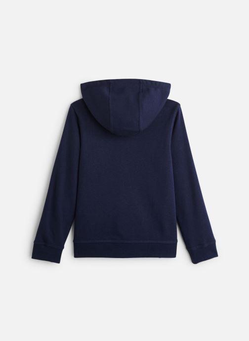 Vêtements Nike Nike Sportswear Hoodie Full Zip Club Bleu vue bas / vue portée sac