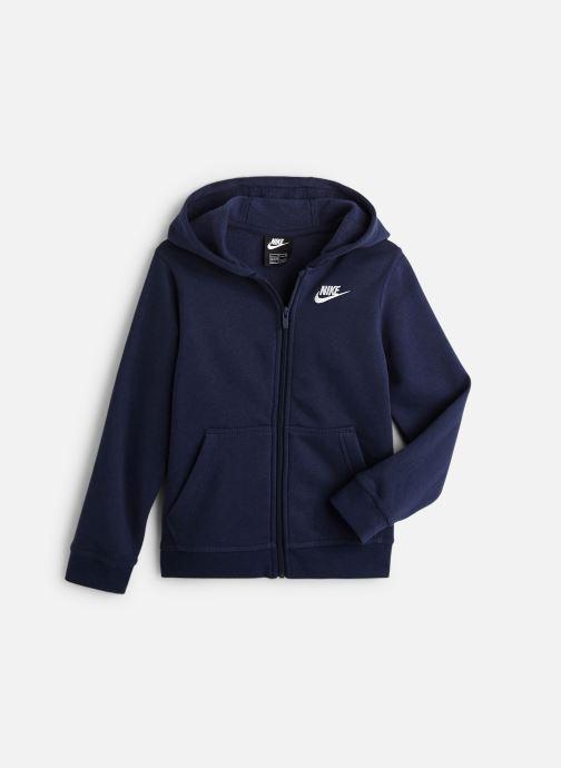Vêtements Nike Nike Sportswear Hoodie Full Zip Club Bleu vue détail/paire