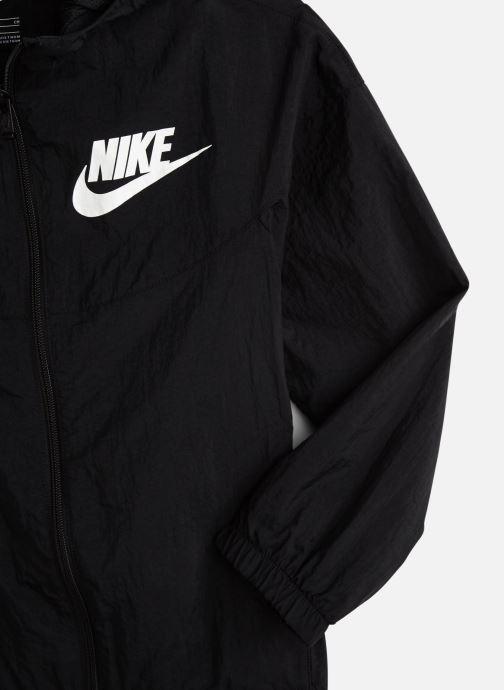 Vêtements Nike Nike Sportswear Woven Jacket Noir vue portées chaussures