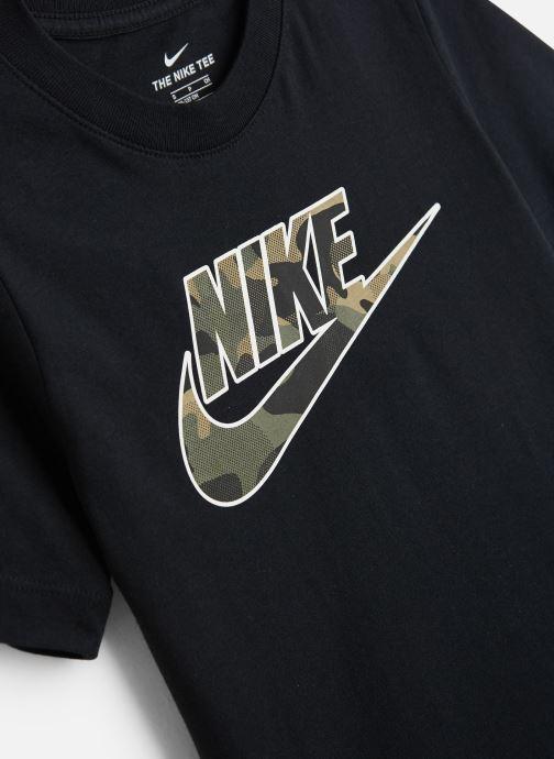 Vêtements Nike Nike Sportswear Tee Futura Fill Noir vue portées chaussures