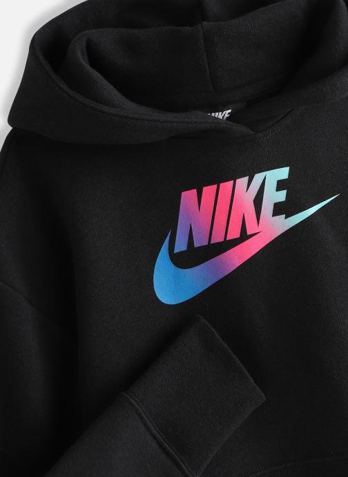 Vêtements Nike Nike Sportswear Ff Crop Noir vue portées chaussures