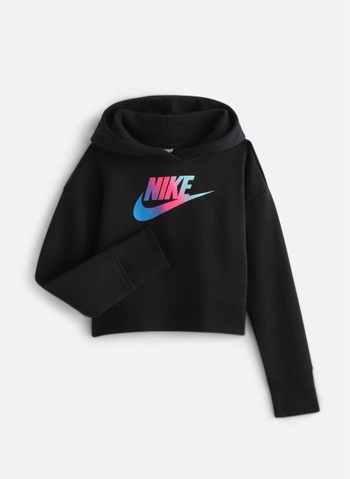 Vêtements Nike Nike Sportswear Ff Crop Noir vue détail/paire