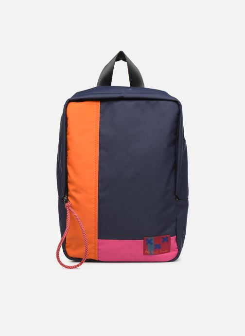 Sacs à dos PS Paul Smith WOMENS BAGPACK COL BLOCK NYL Bleu vue détail/paire