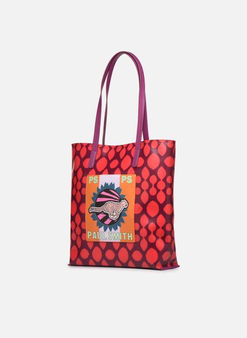 Sacs à main PS Paul Smith Women Bag Cheetah Pock Multicolore vue portées chaussures
