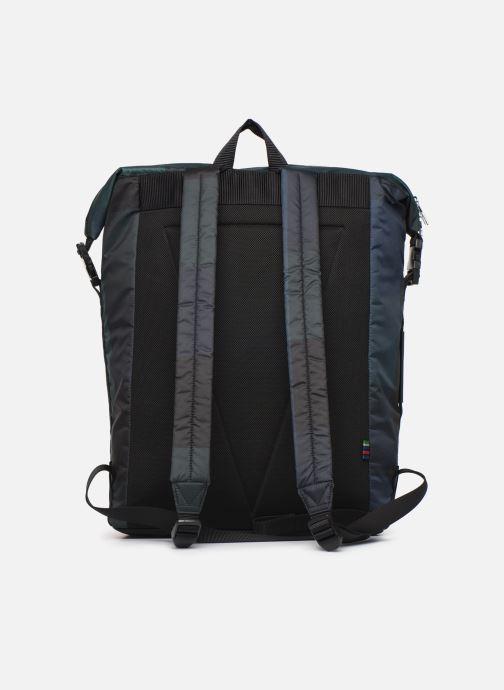 Sacs à dos PS Paul Smith MEN BAG ZIP BKPK CHECK NYL Bleu vue face