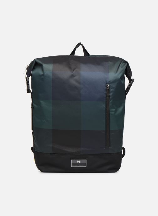 Sacs à dos PS Paul Smith MEN BAG ZIP BKPK CHECK NYL Bleu vue détail/paire
