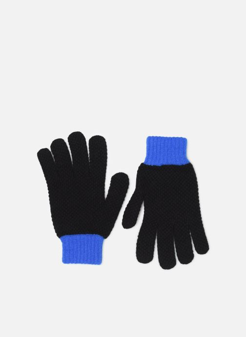 Gants PS Paul Smith MEN GLOVE TEXTURED BLOCK Noir vue détail/paire
