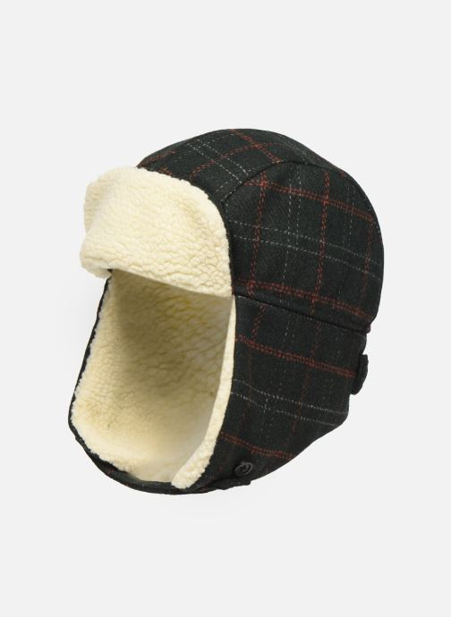 Bonnets PS Paul Smith MEN HAT CHECKED TRAPPER Vert vue détail/paire