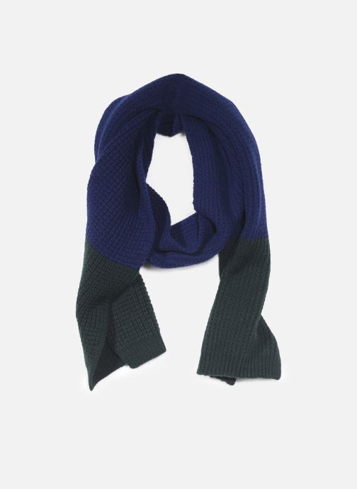 Echarpes et Foulards PS Paul Smith MEN SCARF TEXTURED BLOCK Bleu vue détail/paire