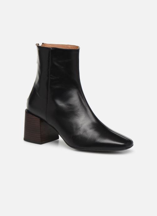 Boots en enkellaarsjes Flattered Inga C Zwart detail
