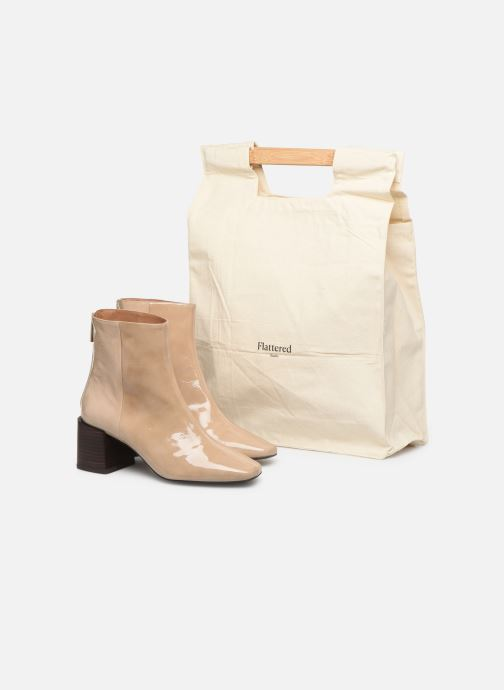 Bottines et boots Flattered Inga C Beige vue 3/4