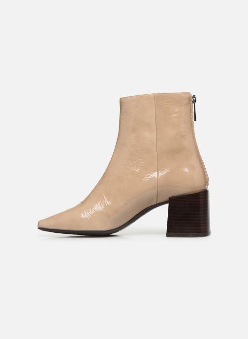 Boots en enkellaarsjes Flattered Inga C Beige voorkant