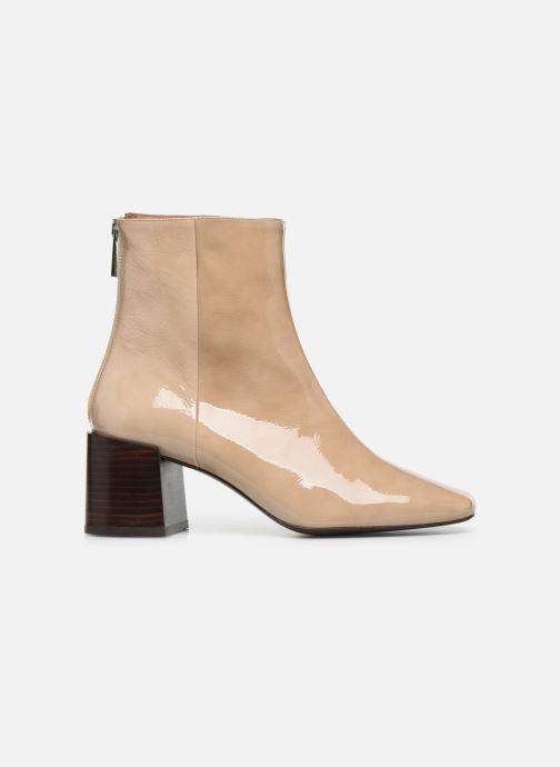 Boots en enkellaarsjes Flattered Inga C Beige achterkant